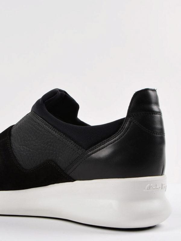 Sneaker - Schwarz shop online: SALVATORE FERRAGAMO