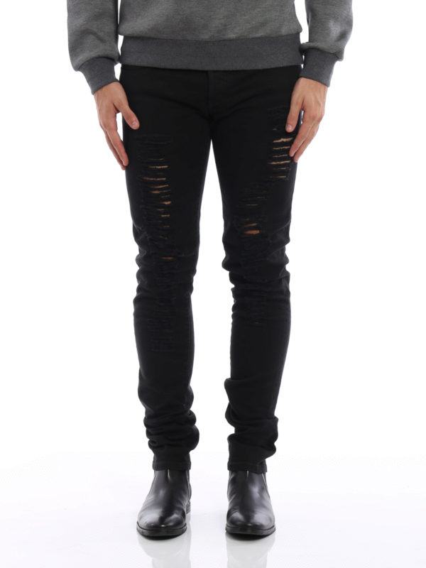 Dior: Skinny Jeans online - Skinny Jeans - Einfarbig