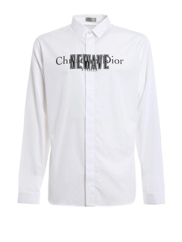 Christian dior paris newave shirt by dior shirts shop for Christian dior button up shirt