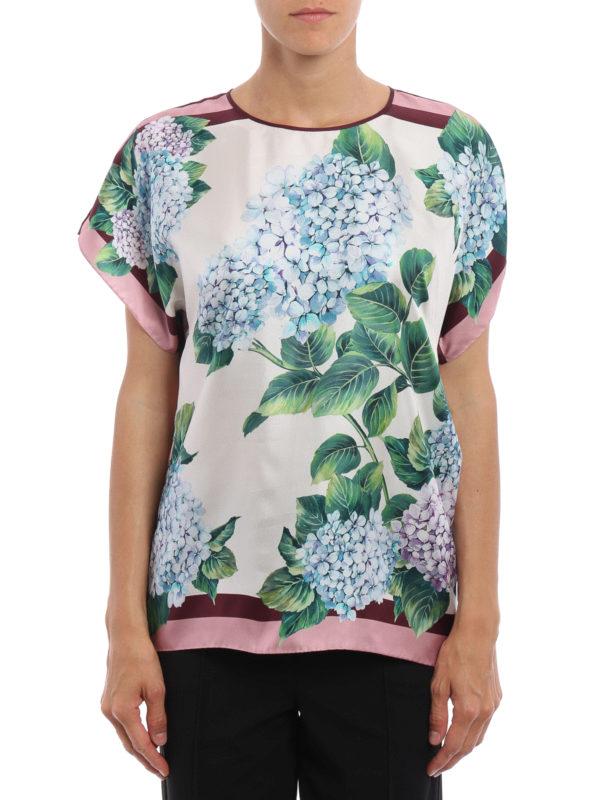 Dolce & Gabbana: Blusen online - Bluse - Grün