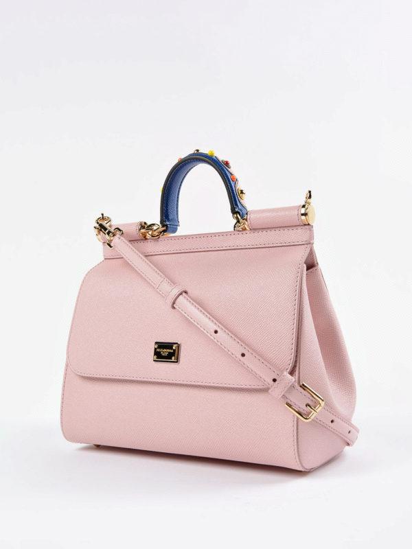 Dolce & Gabbana: Bowling online - Bowling Tasche - Pink