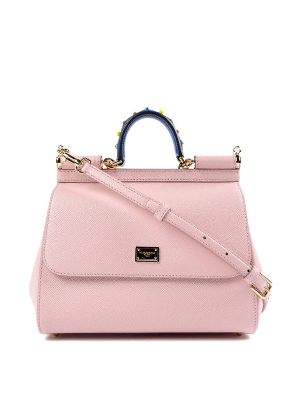 Dolce & Gabbana: Bowling - Bowling Tasche - Pink