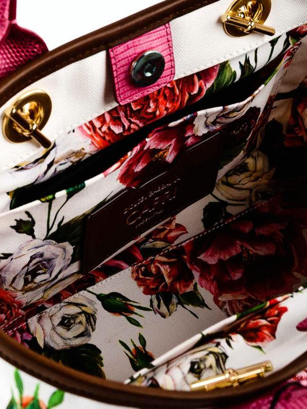 d93c10527006 Dolce   Gabbana - Capri small Peony print cotton canvas tote - totes ...