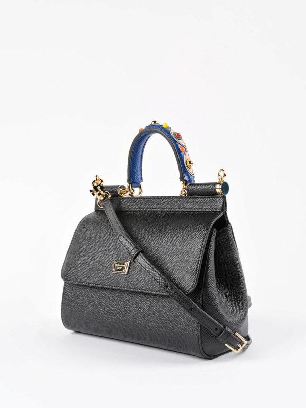 Dolce & Gabbana: Umhängetaschen online - Umhängetasche - Schwarz