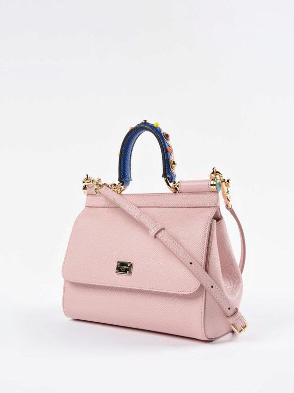 Dolce & Gabbana: Umhängetaschen online - Umhängetasche - Pink