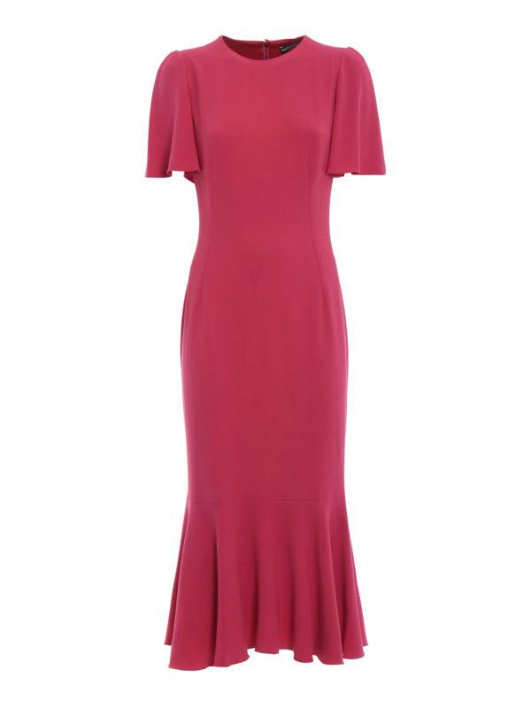 DOLCE & GABBANA: Abendkleider - Abendkleid - Fuchsia