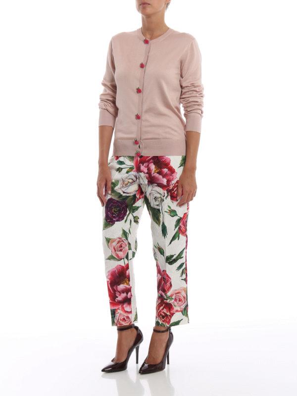 DOLCE & GABBANA: Cardigans online - Cardigan - Einfarbig