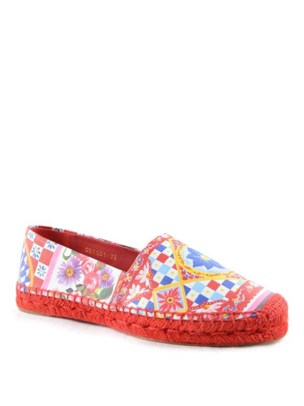 Mujer Para Alpargatas Gabbana Dolceamp; Multicolor pzqSMVUG