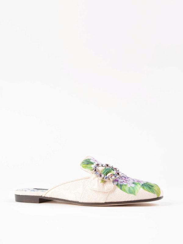 Dolce & Gabbana: Mokassins und Slippers online - Slippers - Bunt