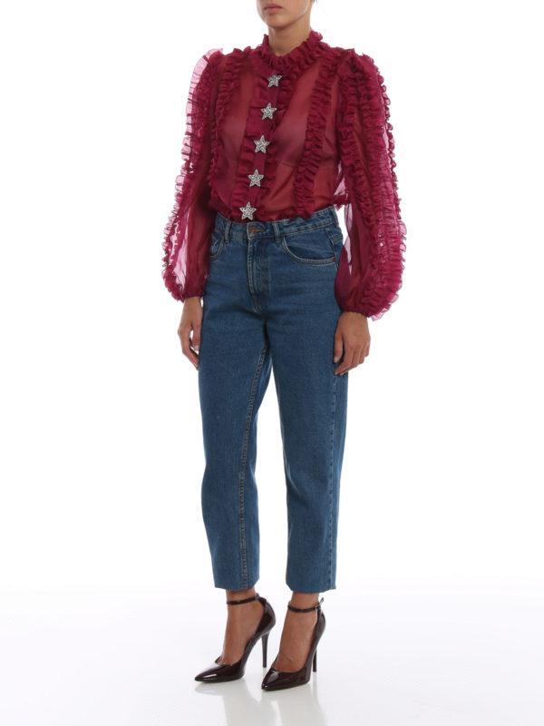 DOLCE & GABBANA: Hemden online - Hemd - Bordeaux