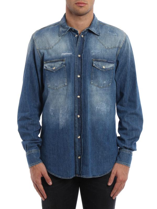 Dolce & Gabbana: Hemden online - Hemd - Einfarbig