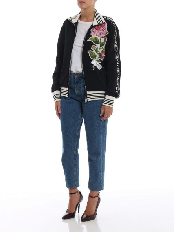 DOLCE & GABBANA: Sweatshirts und Pullover online - Sweatshirt - Schwarz