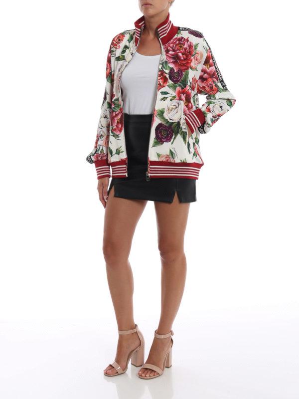 DOLCE & GABBANA: Sweatshirts und Pullover online - Sweatshirt - Gemustert