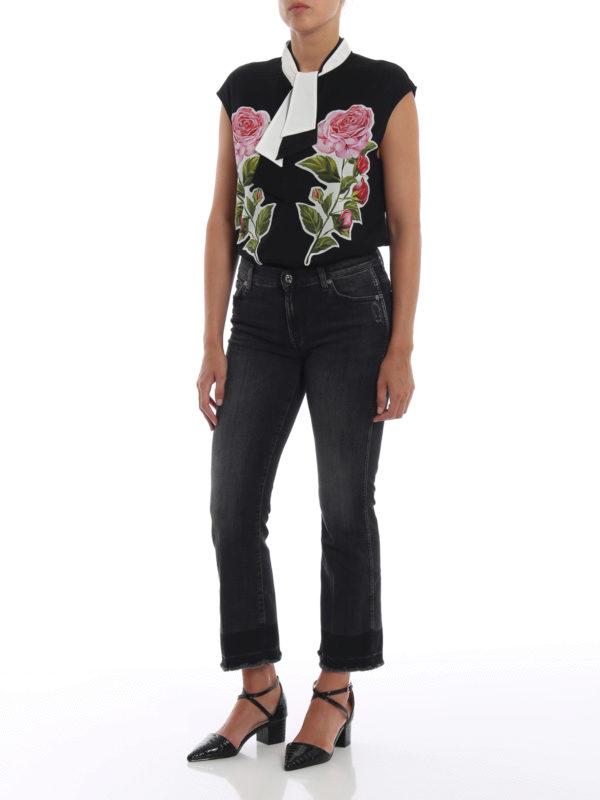 DOLCE & GABBANA: T-shirts online - T-Shirt - Schwarz