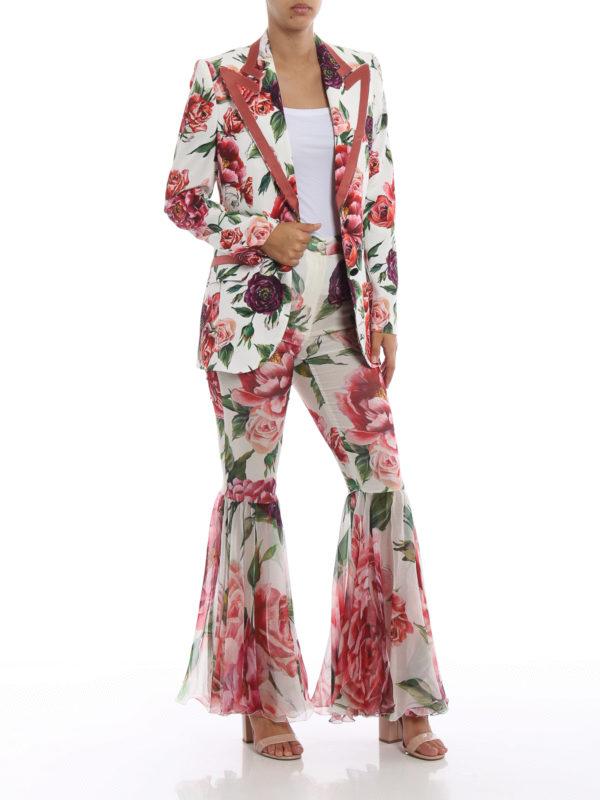 DOLCE & GABBANA: Maßgeschneiderte und Formale Hosen online - Formale Hose - Gemustert