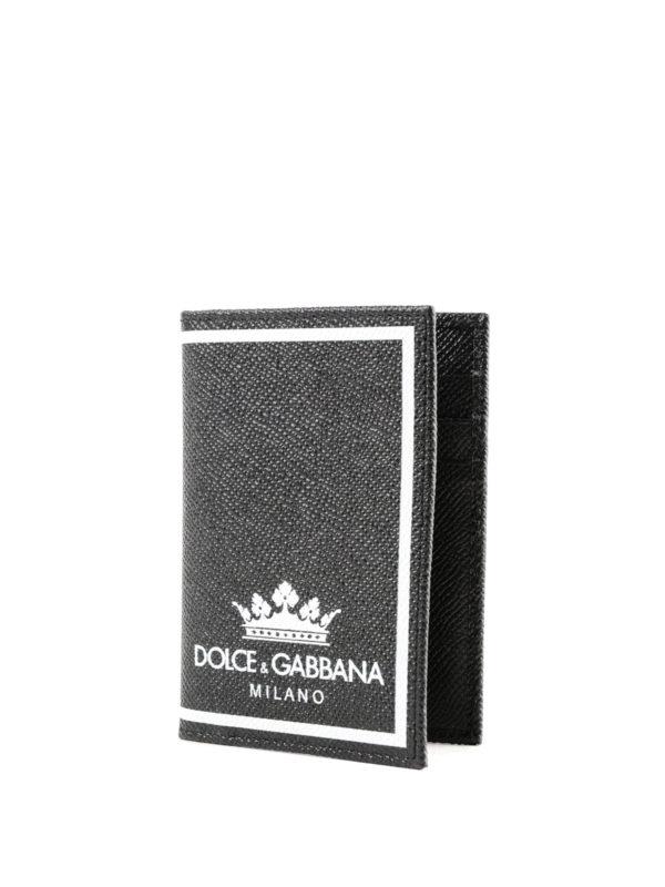 DOLCE & GABBANA: Portemonnaies und Geldbörsen online - Portemonnaie - Schwarz