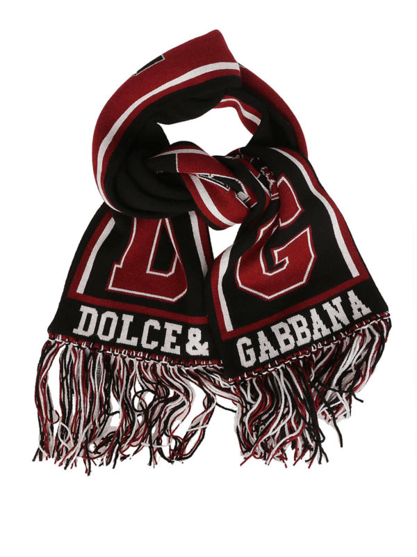 DOLCE & GABBANA: scarves - Cashmere football club style scarf