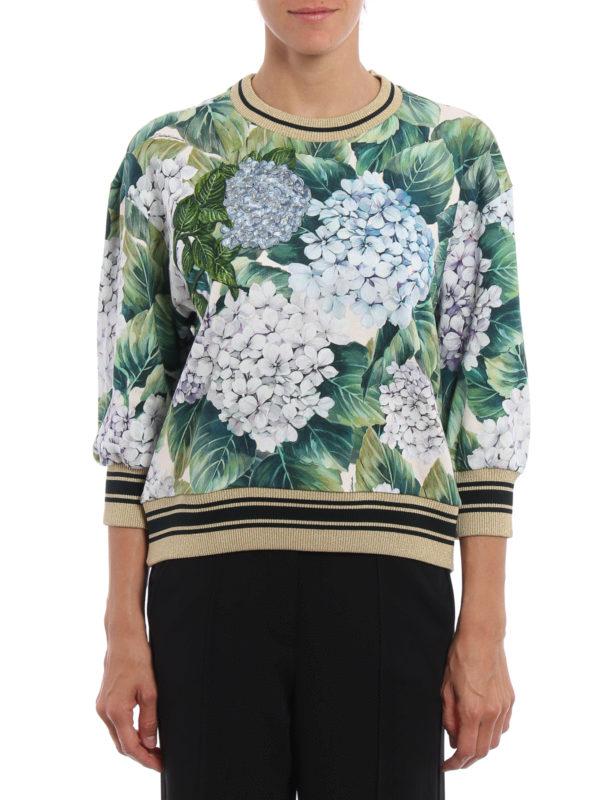 Dolce & Gabbana: Sweatshirts und Pullover online - Sweatshirt - Grün