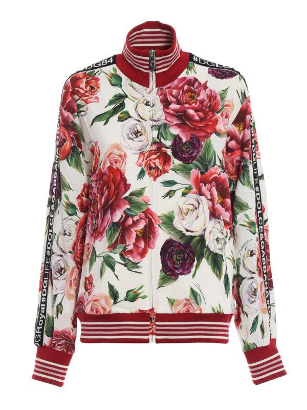 DOLCE & GABBANA: Sweatshirts und Pullover - Sweatshirt - Gemustert