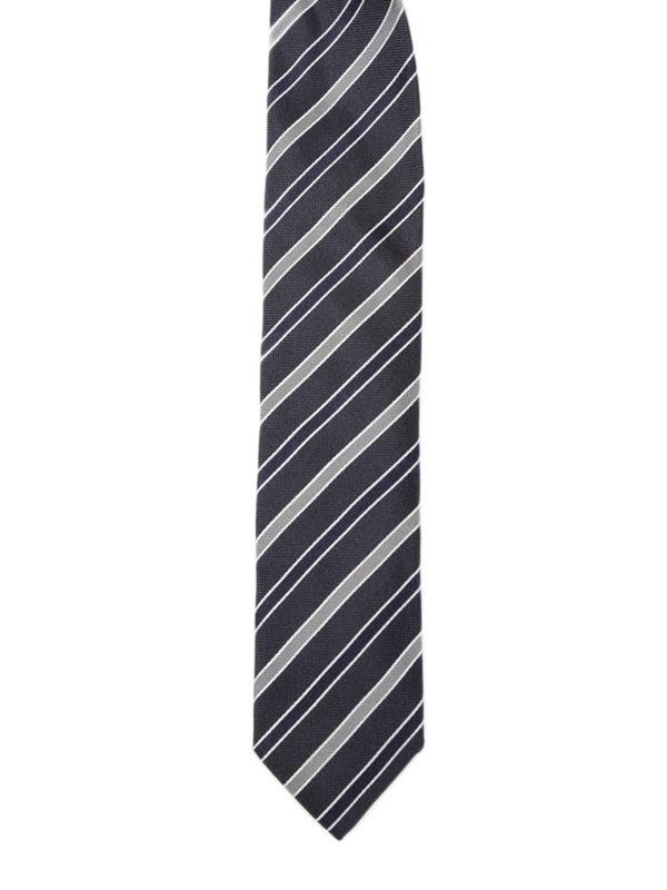 Dolce & Gabbana: Krawatten und Fliegen - Krawatte - Gemustert