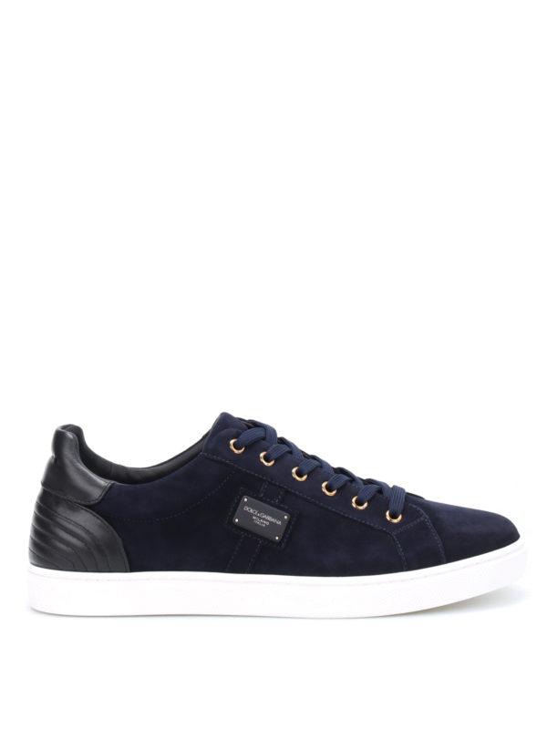 DOLCE & GABBANA: Sneaker - Sneaker - Blau
