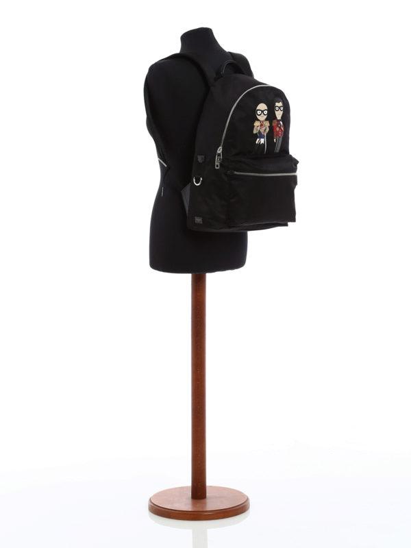 iKRIX Dolce & Gabbana: Rucksack - Schwarz