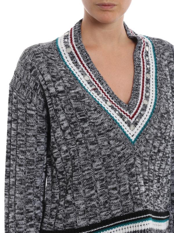 DONDUP buy online V-Pullover - Bunt
