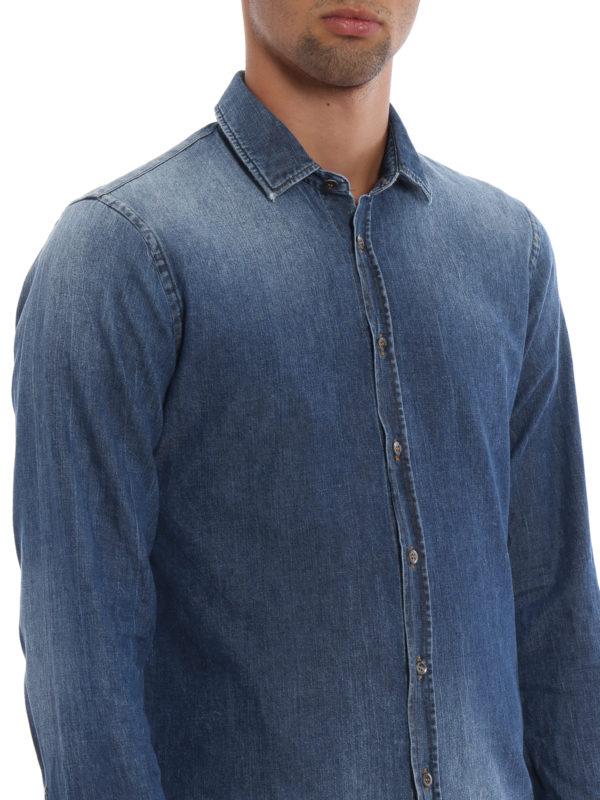 DONDUP buy online Hemd - Jeansblau