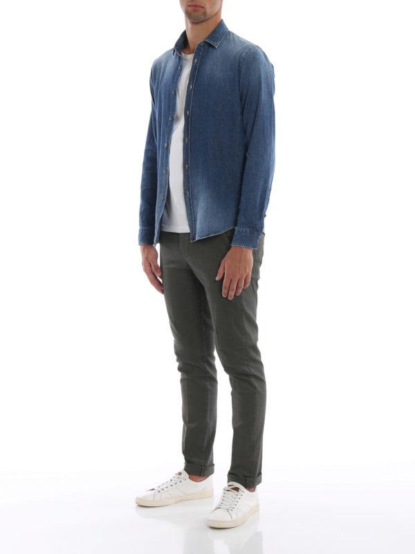 DONDUP: Hemden online - Hemd - Jeansblau