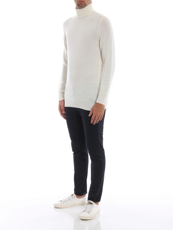 DONDUP: Rollkragenpullover  und Polo-Ausschnitt online - Rollkragenpullover - Weiß