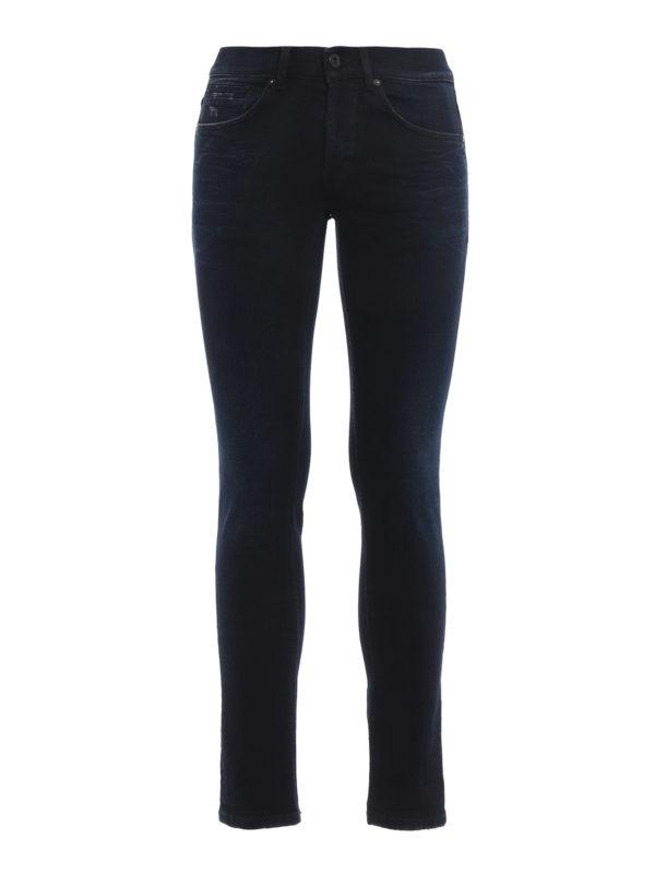 DONDUP: Skinny Jeans - Skinny Jeans - Dark Wash
