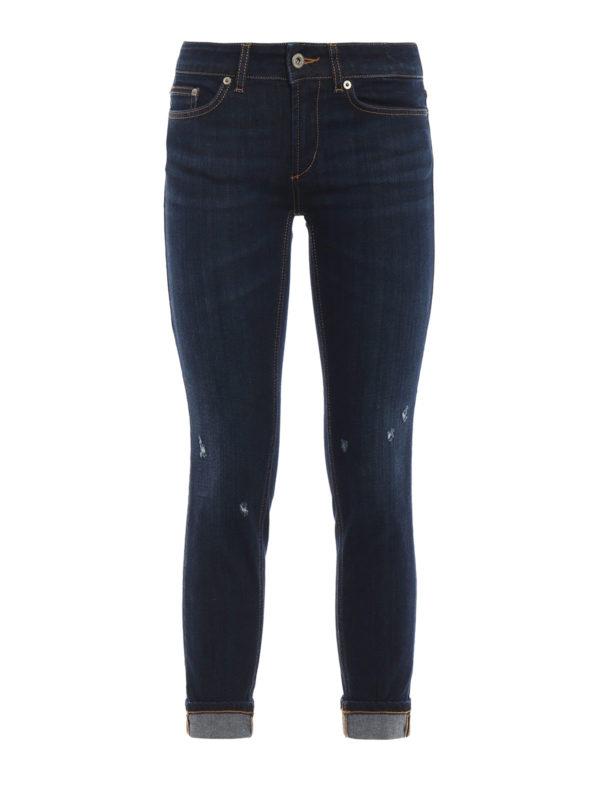 DONDUP: Skinny Jeans - Skinny Jeans - Dunkles Jeansblau