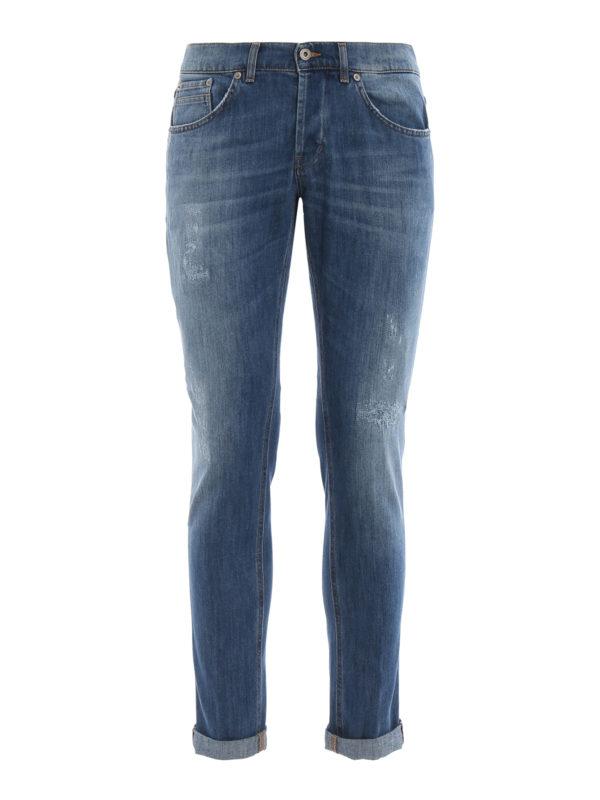 DONDUP: Skinny Jeans - Skinny Jeans - Helles Jeansblau