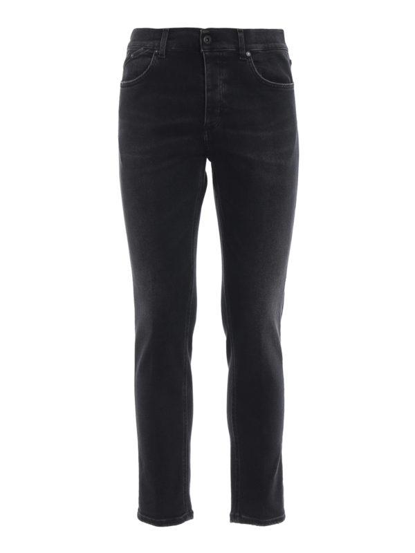 DONDUP: Straight Leg Jeans - Straight Leg Jeans - Dunkelgrau