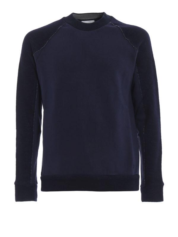 DONDUP: Sweatshirts und Pullover - Sweatshirt - Dunkelblau
