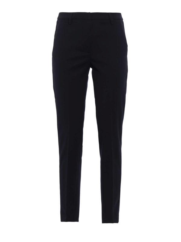DONDUP: Maßgeschneiderte und Formale Hosen - Formale Hose - Dunkelblau