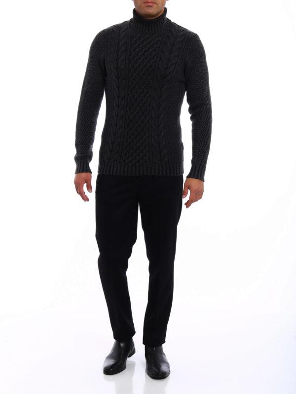 DRUMOHR: Turtlenecks & Polo necks online - Soft merino wool turtleneck