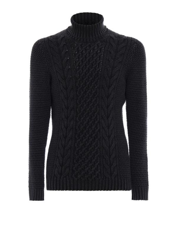 DRUMOHR: Turtlenecks & Polo necks - Soft merino wool turtleneck
