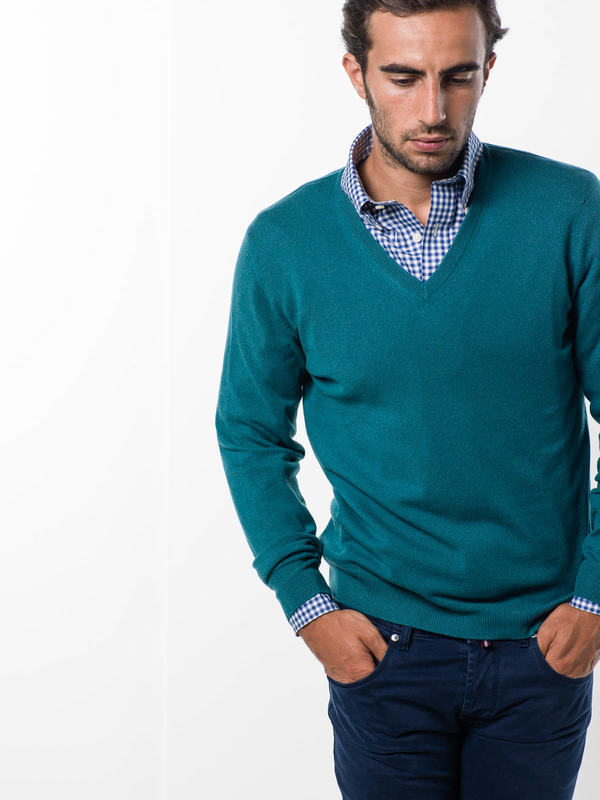 Drumohr: v necks online - V-neck sweater