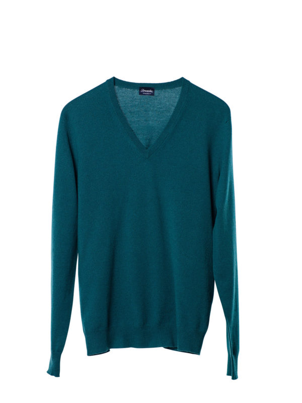 Drumohr: v necks - V-neck sweater
