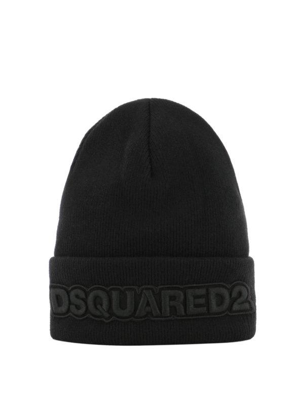 DSQUARED2: Mützen - Mütze - Schwarz