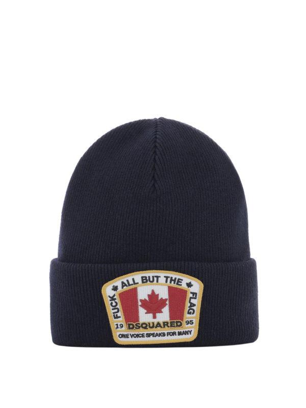 DSQUARED2: Mützen - Mütze - Blau