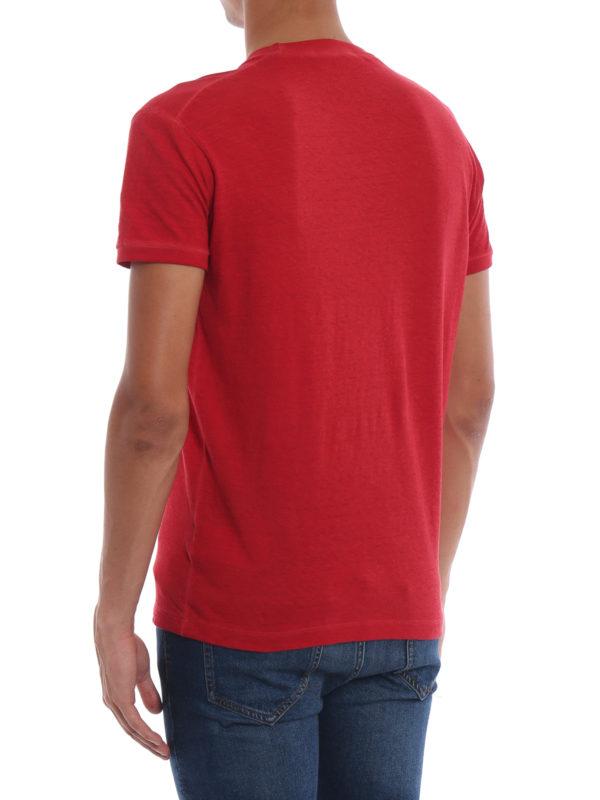 T-Shirt - Rot shop online: DSQUARED2