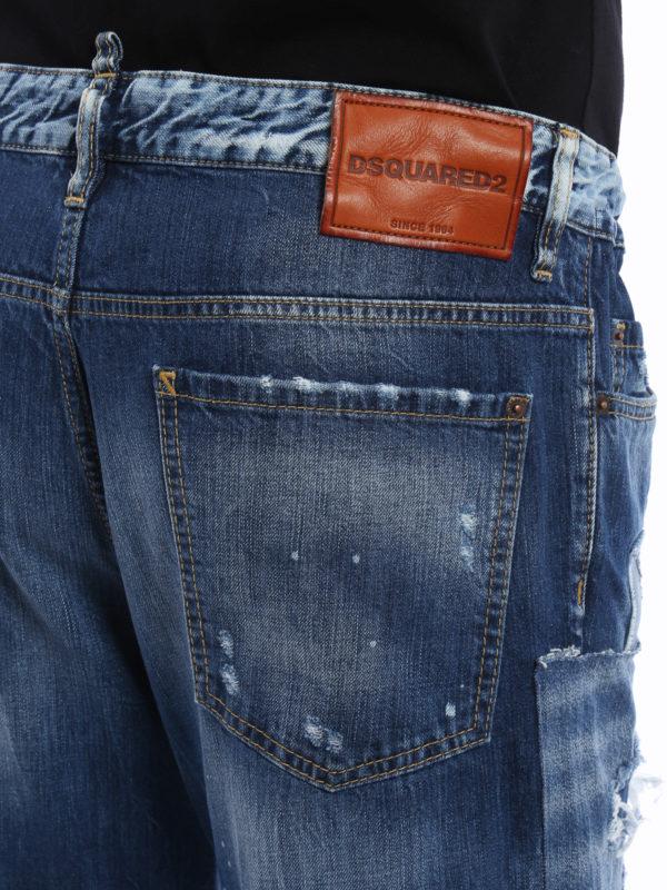 Dsquared2 buy online Straight Leg Jeans - Light Wash