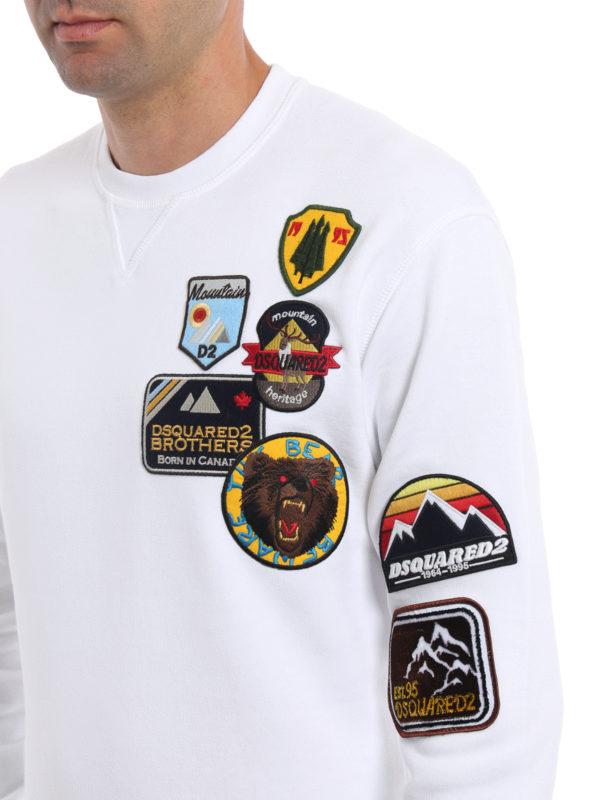 Dsquared2 buy online Sweatshirt - Einfarbig
