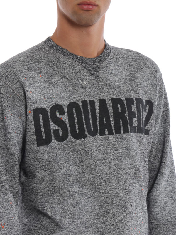 DSQUARED2 buy online Sweatshirt - Grau