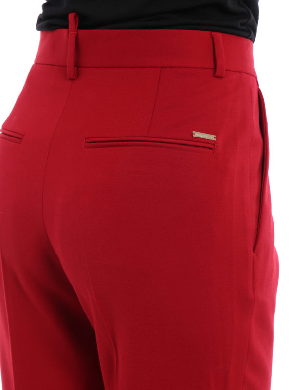 DSQUARED2 buy online Formale Hose - Rot