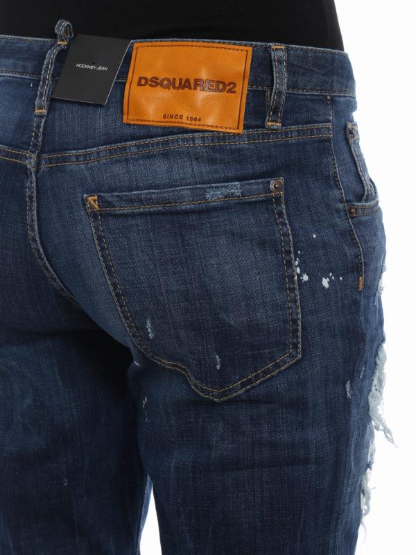 DSQUARED2 buy online Skinny Jeans - Dunkles Jeansblau