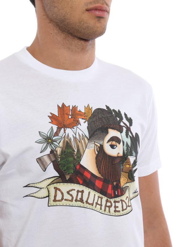 Dsquared2 buy online T-Shirt - Gemustert