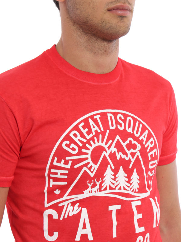 Dsquared2 buy online T-Shirt - Gemustert